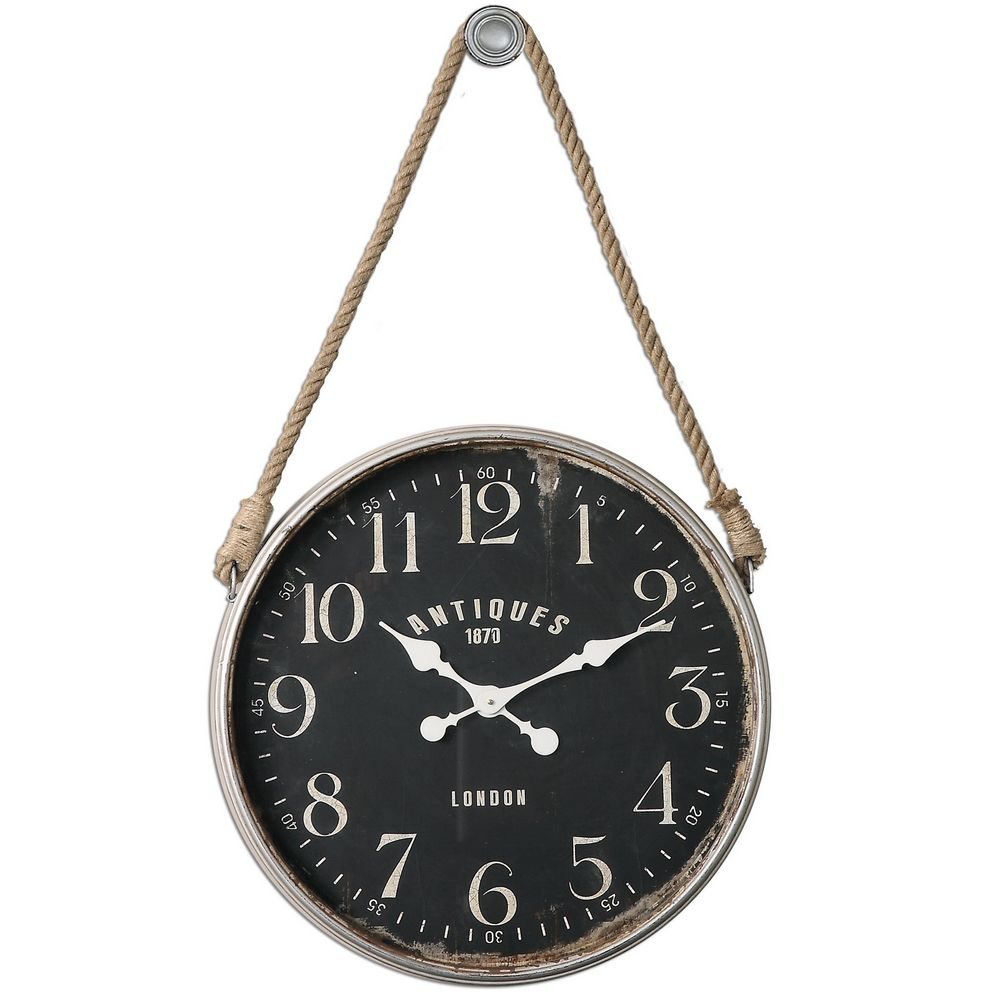 Large wall clocks oversized big clocks at clockshops 24off bartram large wall clock uttermost 06428 amipublicfo Image collections