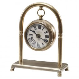 Bahan Brass Table Clock Uttermost 06431