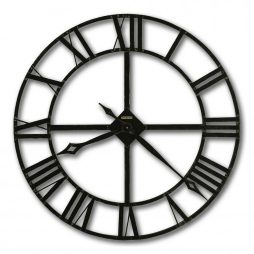"Howard Miller Lacy 30"" Wrought Iron Wall Clock"