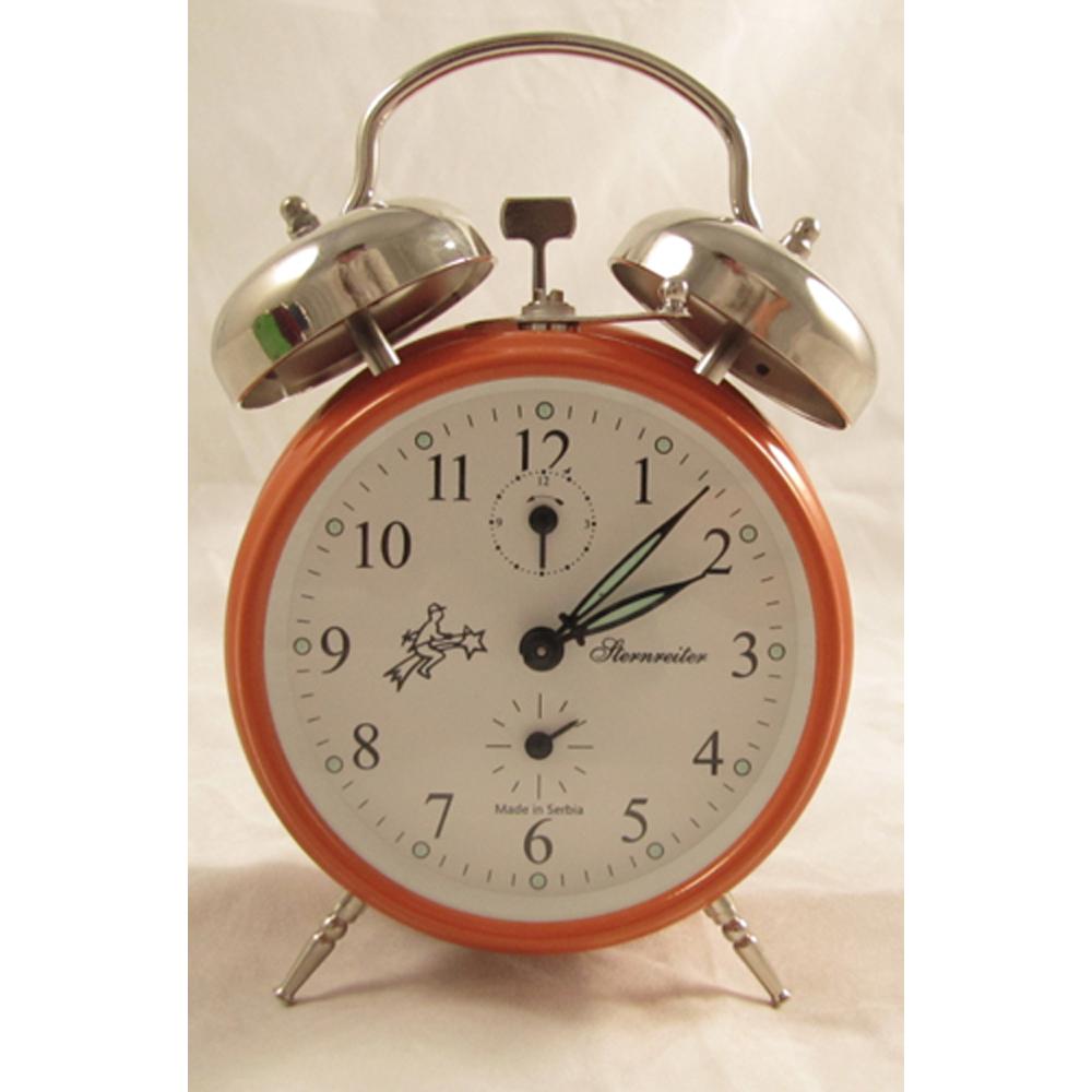 Mechanical Alarm Clock Orange Sternreiter Mm 111 602 35