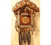 Bahnhausle Cuckoo Clocks with 8 Day Musical Movement 8359