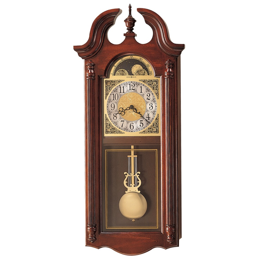 chiming wall clocks howard miller fenwick