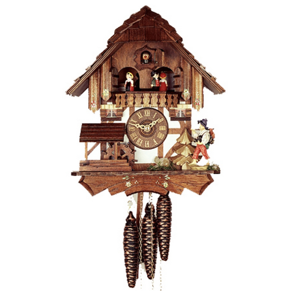 1 Day Musical Cuckoo Clocks German Cuckoo Clocks