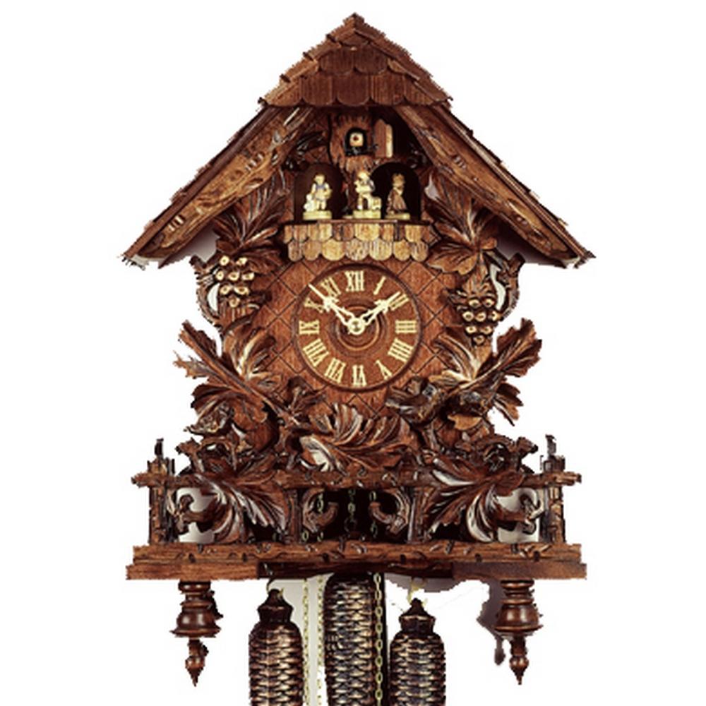 8 Day Cuckoo Clocks Hand Carved German Clocks
