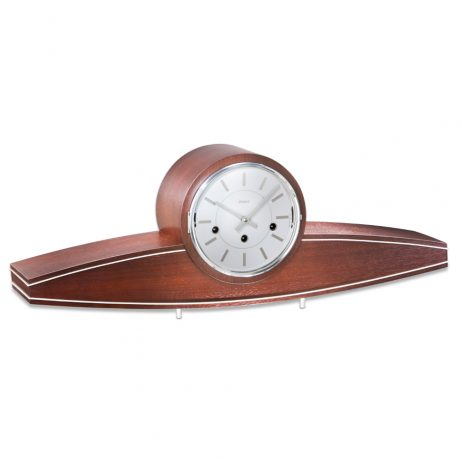 Kieninger UFO Art Deco Mechanical Mantel Clock 1281-22-01