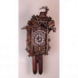 Trellis Cuckoo Clock with 8 Day Movement Sternreiter 8224 | ClockShops.com