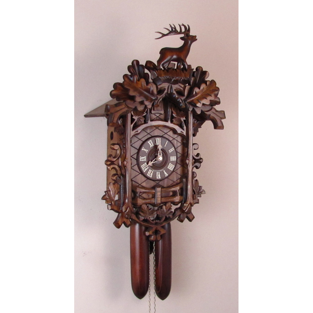 Cuckoo clocks german authentic black forest clockshops trellis cuckoo clock with 8 day movement sternreiter 8224 amipublicfo Image collections