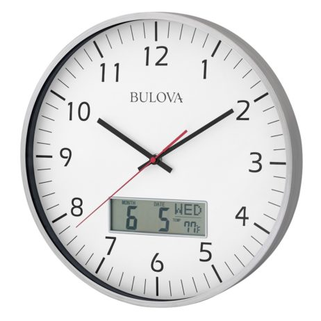 Manager Office Wall Clock - Bulova C4810
