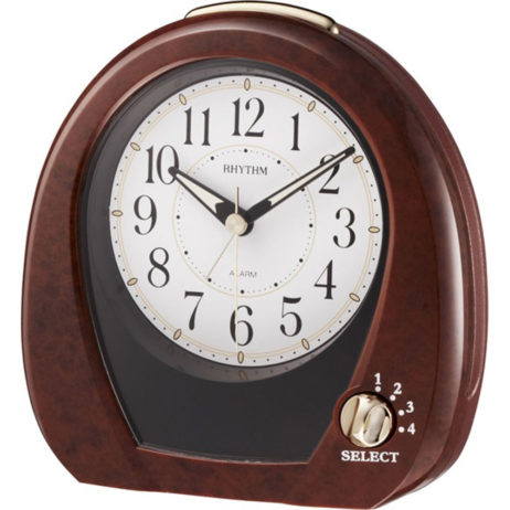 Joyful Morning Musical Alarm Clock - Rhythm 4RM758WD23