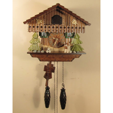 German Chalet Cuckoo Clock 1316QM