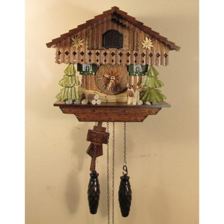German Chalet Cuckoo Clock 1316QM
