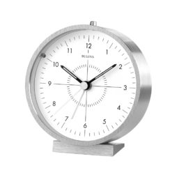 Bulova Flair Bedside Alarm Clock B6844