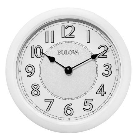 Bulova Versatile Indoor/Outdoor Wall Clock Bulova C4842