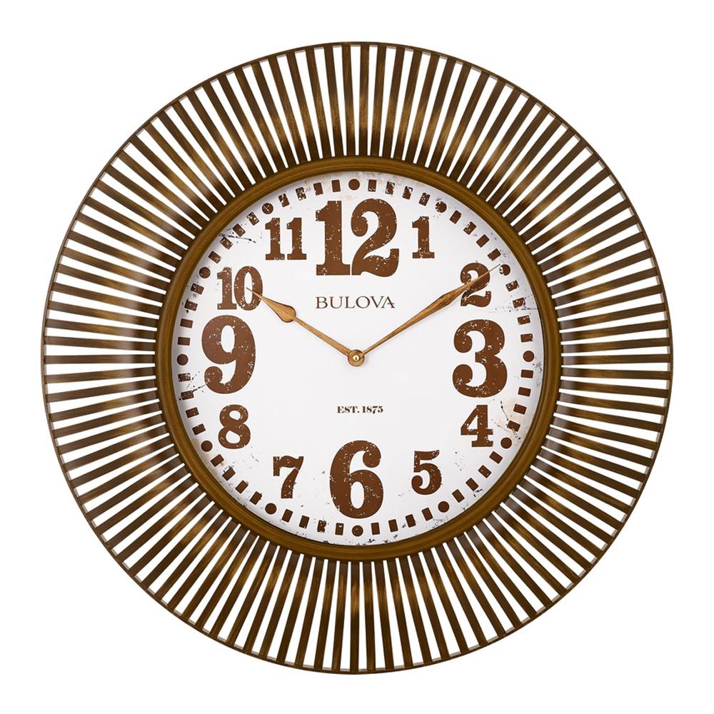 Large wall clocks oversized big clocks at clockshops sunburst 2875 wall clock c4843 amipublicfo Choice Image