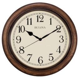 """Oakbrook 16"""" Station Wall Clock - Bulova C4845"""
