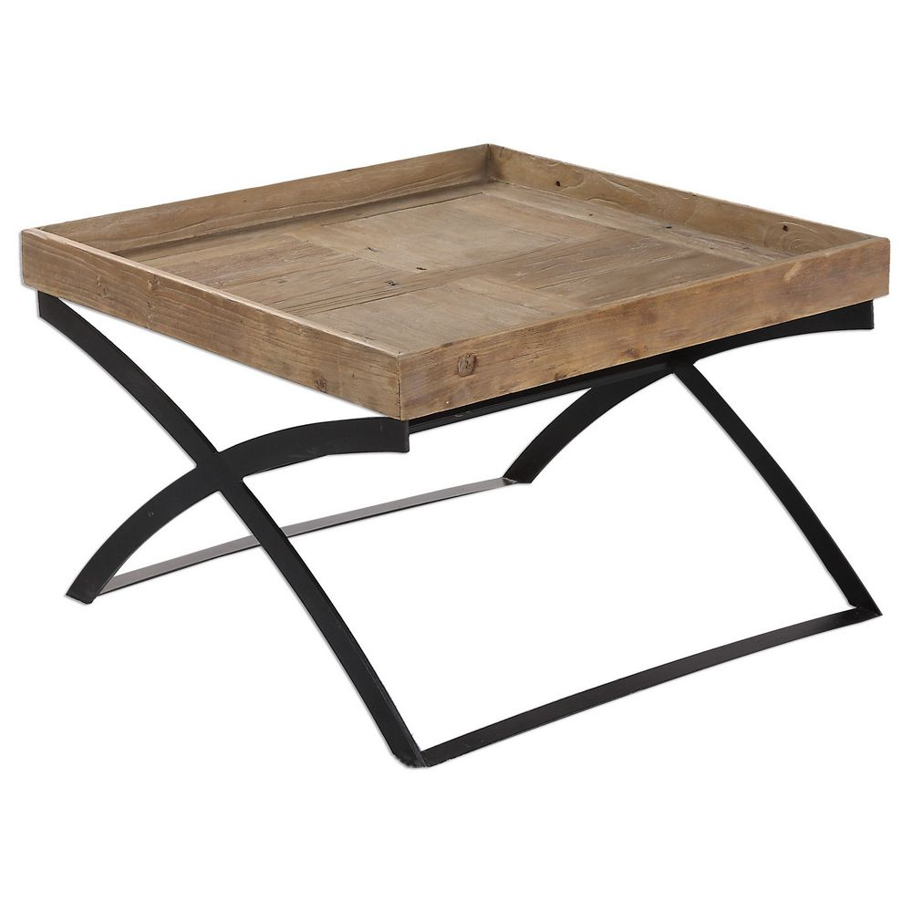 Coffee Table Tray Home Goods: Uttermost Ferox Elm Tray Coffee Table 24574