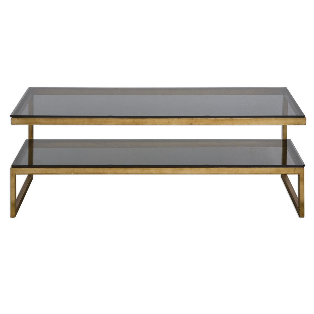 Glass Coffee Tables At Furniture Village: Uttermost Adeen Glass Coffee Table 24619