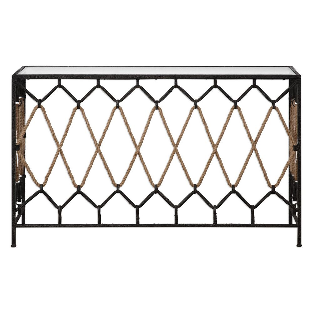 pictures of black kitchen cabinets uttermost darya nautical console table 24665 clockshops 24665