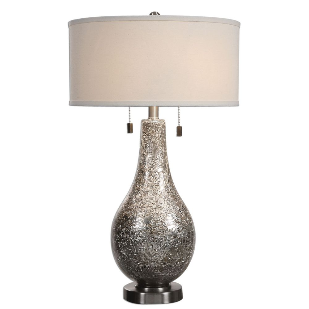 Uttermost Saracena Mercury Glass Lamp 27050 1 Clockshops Com