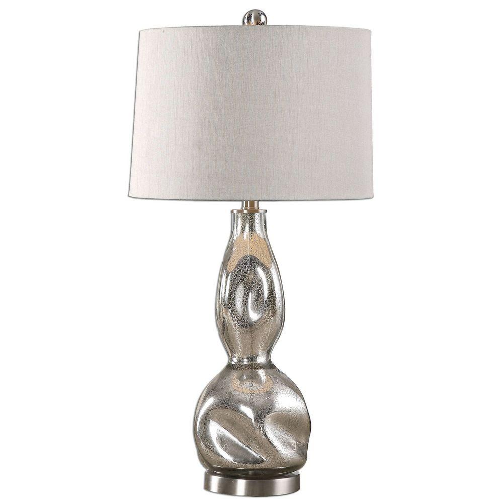 Uttermost Dovera Mercury Glass Lamp 27055 1 Clockshops Com