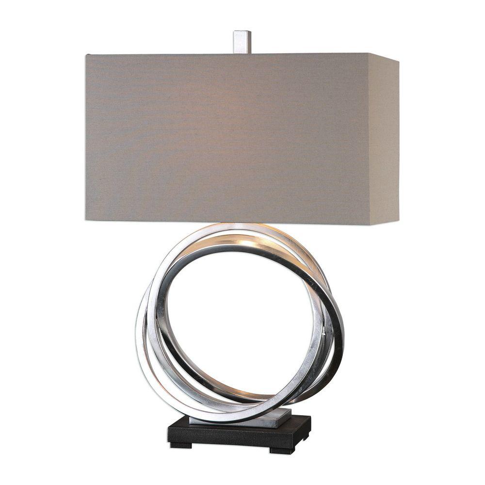 Uttermost Soroca Silver Rings Lamp 27310 1 Clockshops Com