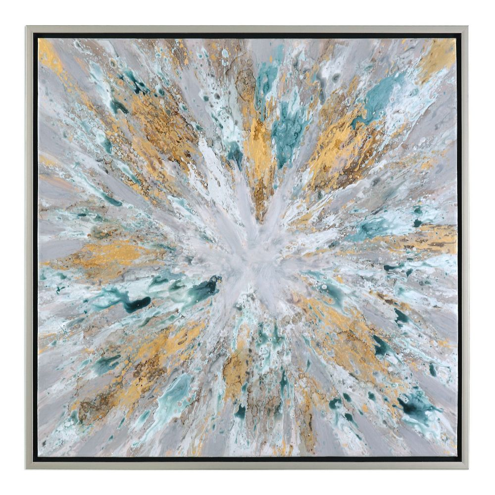 Uttermost Exploding Star Modern Abstract Art 34361