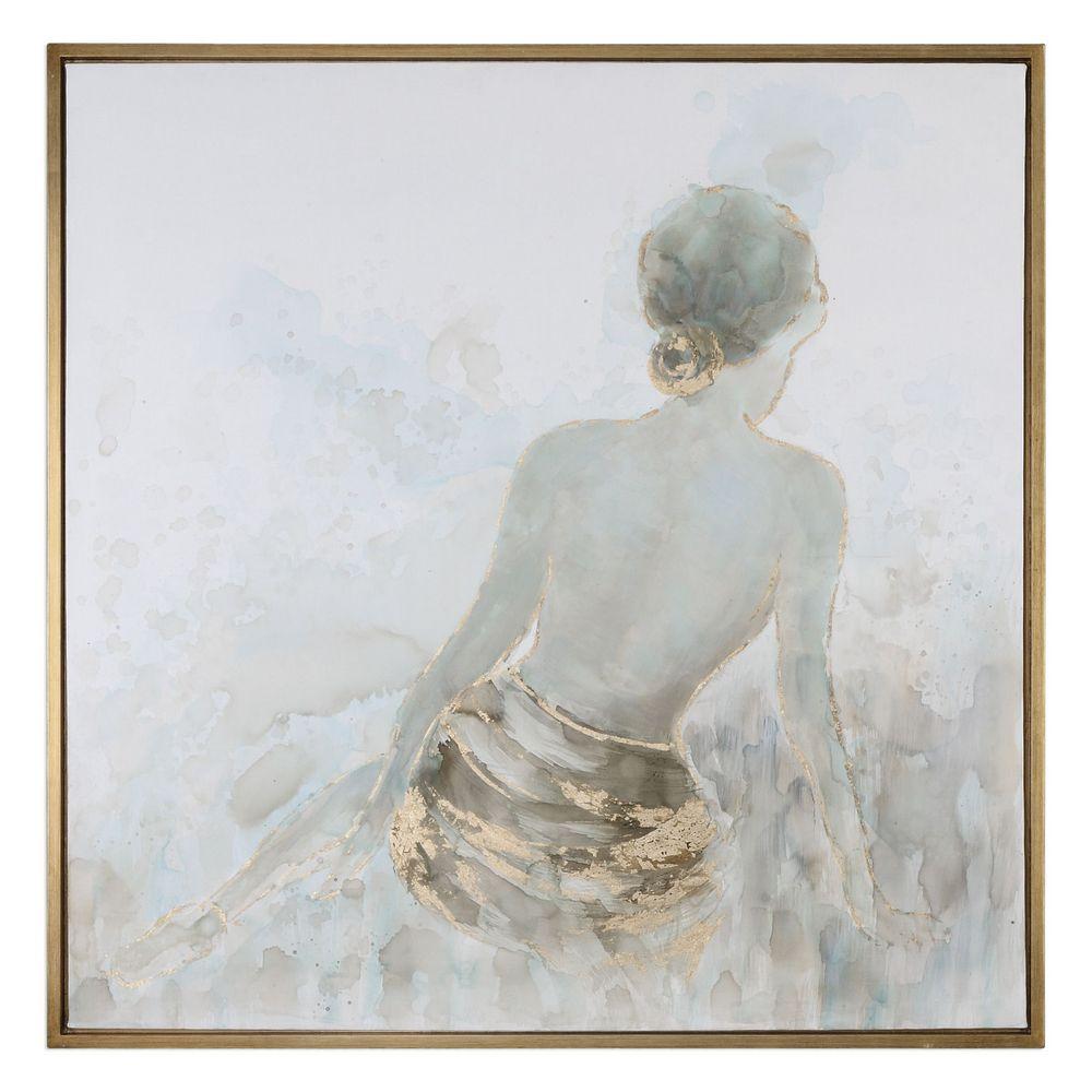 Uttermost Gold Highlights Feminine Art 35345 Clockshops Com