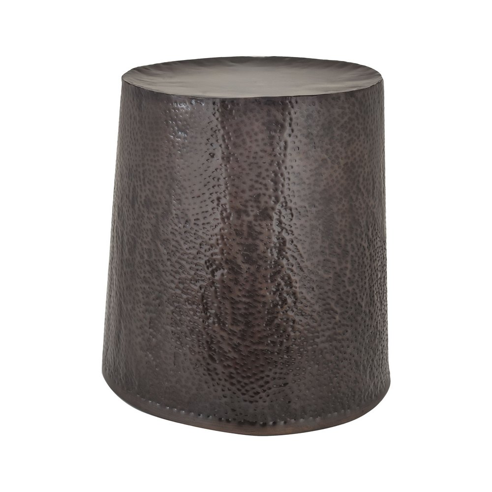 Bronze Drum Stool Dimond Home 8990 024 Clockshops Com