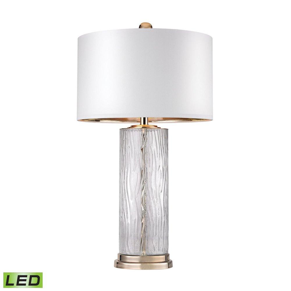 Water Glass Led Table Lamp Dimond Lighting D2747 Led