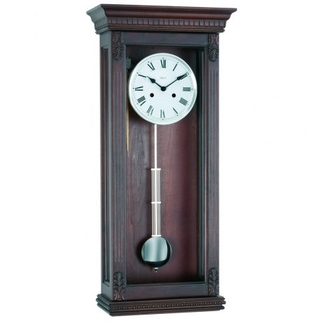 Hermle Pembroke Chiming Wall Clock with Mechanical Gong 70819-Q10141
