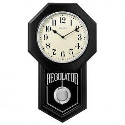 School Master Regulator Wall Clock - Bulova C1519