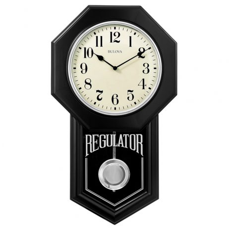 School Master Regulator Wall Clock - Bulova C1519