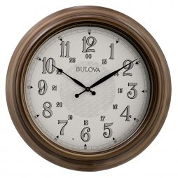 "Key West 24"" Outdoor Wall Clock - C4852"