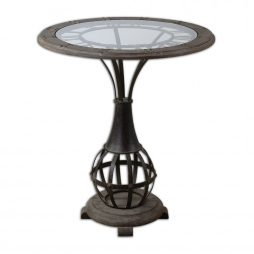 Uttermost Honi Glass Accent Table 24322