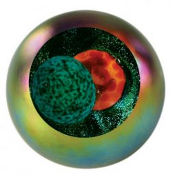 Solar Eclipse Celestial Series Paperweight 521F
