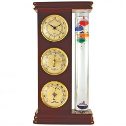 Galileo Thermometer Combination Station - Global Village F584