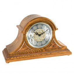 Amelia Tambour Mantel Clock - Oak Hermle 21130I9Q