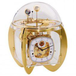 Astro Tellurium  Mantel Clock - Brass Hermle 23002000352