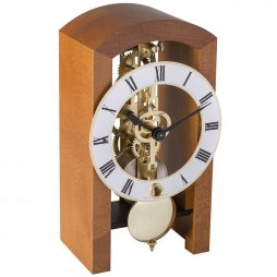 Patterson Modern Mantel Clock - Walnut Hermle 23015030721