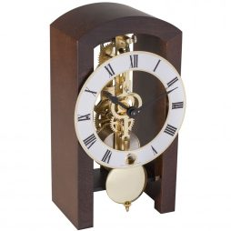 Patterson Modern Mantel Clock - Cherrywood Hermle 23015160721