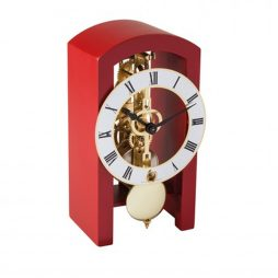 Patterson Modern Mantel Clock - Red Hermle 23015360721