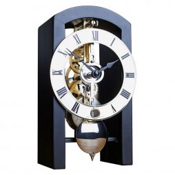 Patterson Mantel Clock - Black Hermle 23015740721
