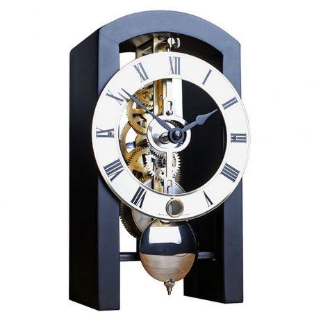 Patterson Mantel Clock - Black Hermle 23015740721