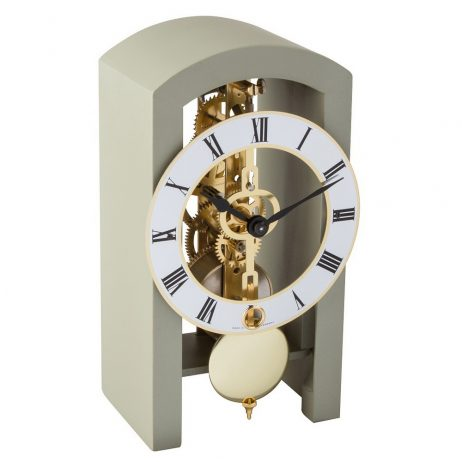 Patterson Modern Mantel Clock - Grey Hermle 23015D10721