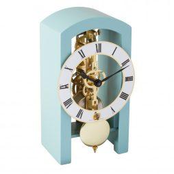 Patterson Mantel Clock - Blue - Hermle 23015S40721