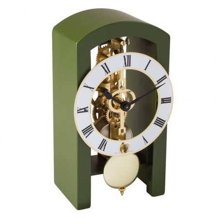 Patterson Mantel Clock - Green Hermle 23015S50721