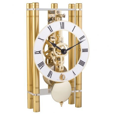 Mikal Modern Mechanical Table Clock - Gold Hermle 23020500721