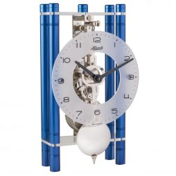 Mikal Modern Mechanical Table Clock - Blue Hermle 23021Q70721