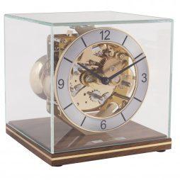 Clark Minimalistic Modern Mantel Clock - Walnut Hermle 23052030340