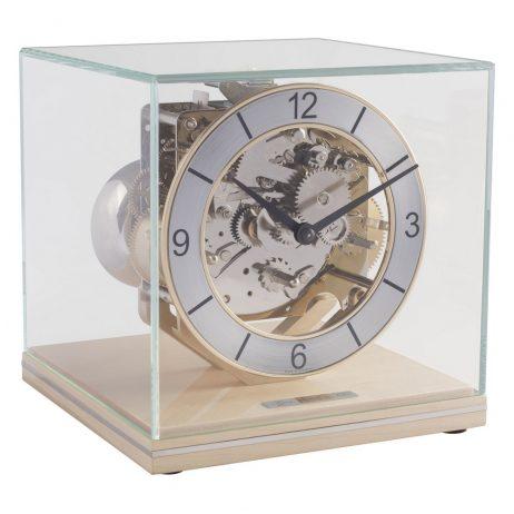 Clark Minimalistic Modern Mantel Clock - Maple Hermle 23052090340